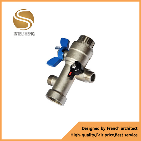 Aluminum Butterfly Handle Brass Ball Valve (TFB-040-002) pictures & photos