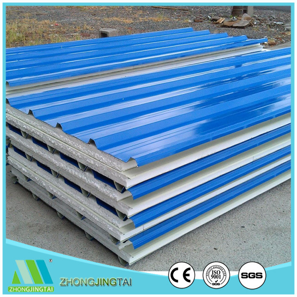 China Cheap Corrugated Eps Styrofoam Sandwich Wall Panel Roofing