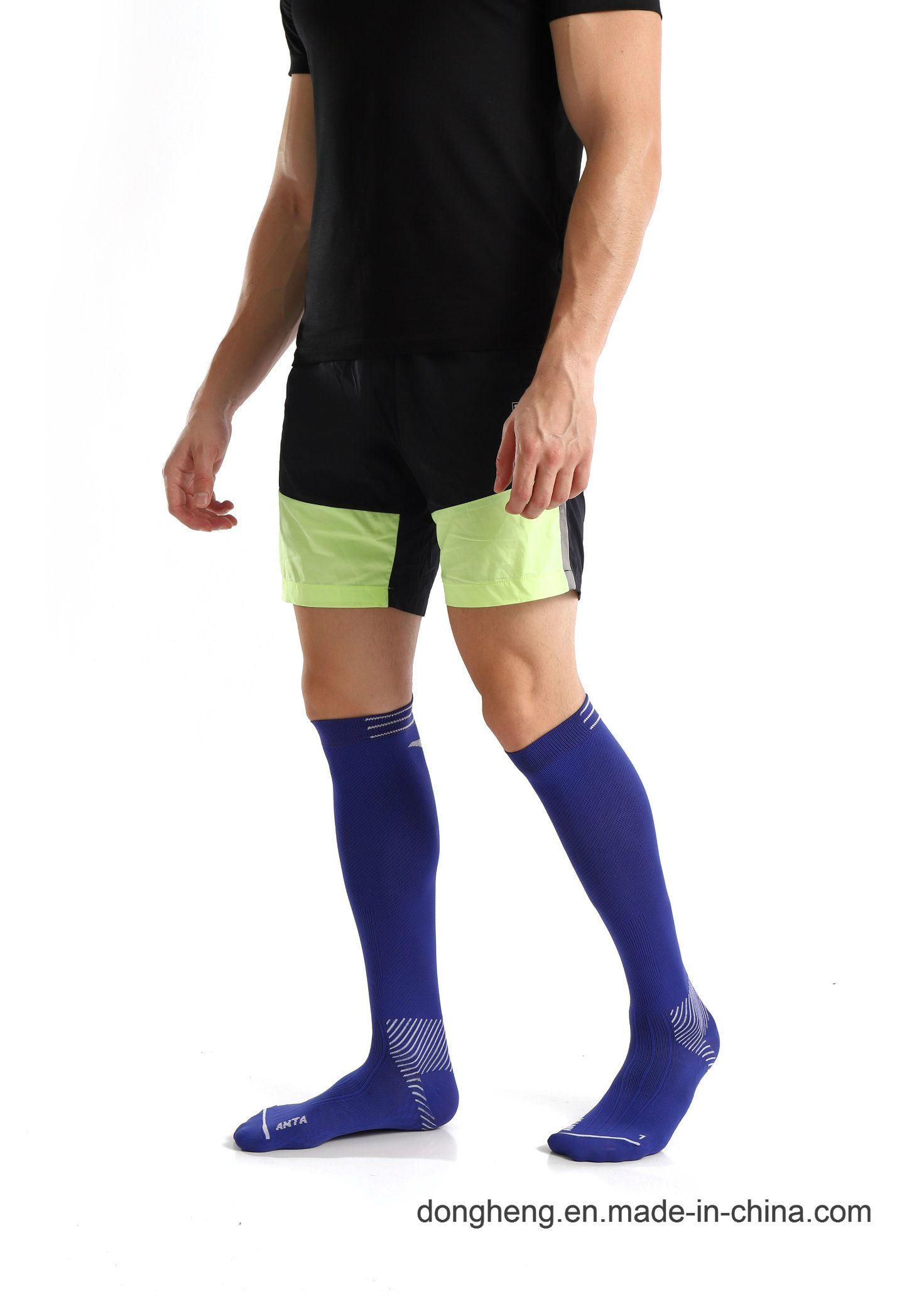 f01f98c8caa China Cotton Compression Graduated Support Knee-High Purple Jacquard Socks  for Men Women - China Cotton Compression Socks
