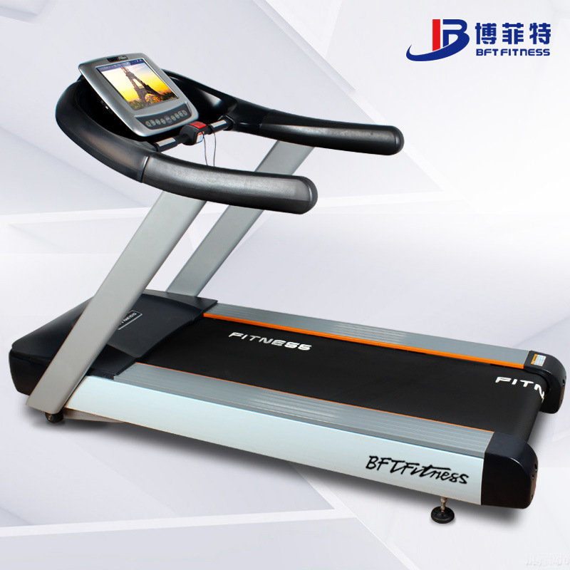 [Hot Item] Cardio Running Machine, Exercise Commercial Motorized Treadmill  with TV Display, Electric Commercial Treadmill