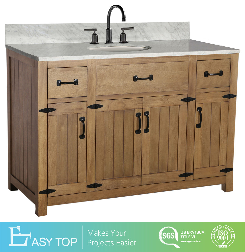 China Customized Hotel Classic Style Deep Used Wooden Bathroom Vanity Cabinet China Used Bathroom Vanity Craigslist Bathroom Cabinet Vanity