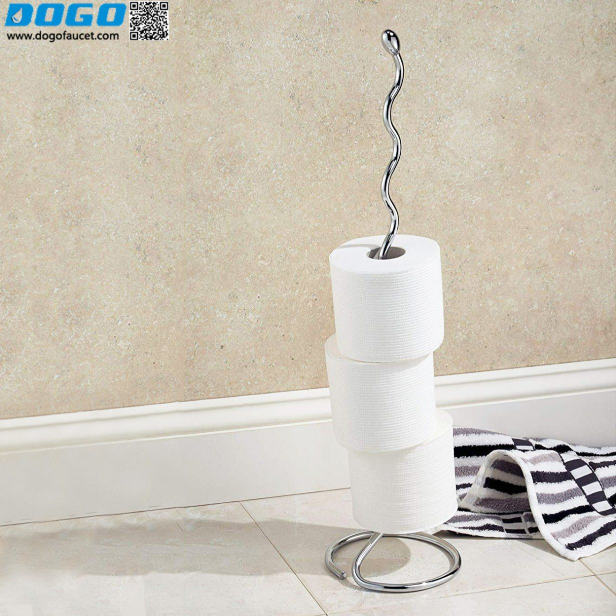 China Floor Standing Toilet Roll Holder