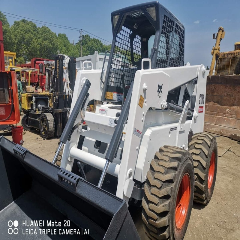 China Used Mini Bobcat S185 Wheel Loader for Sale Good