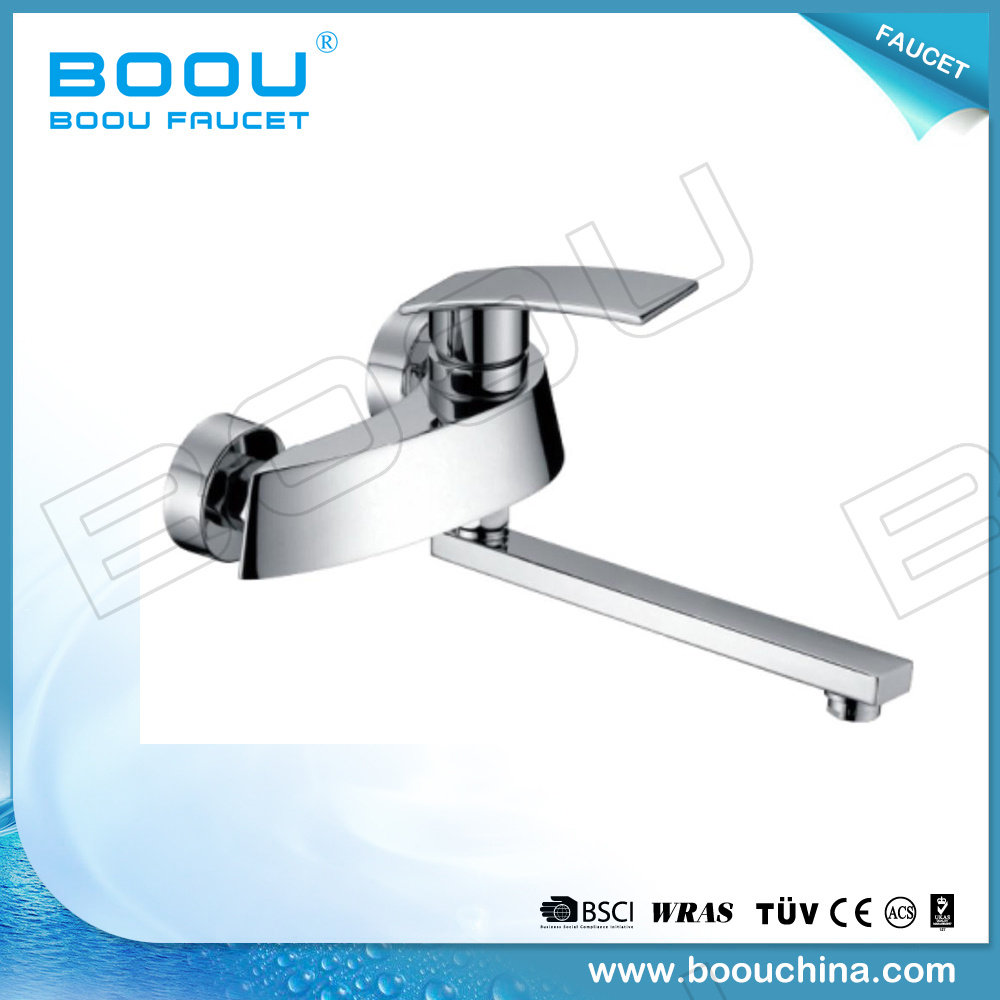 China The Boou Brand Single Handle a Brass Kitchen Hot Cold Water ...