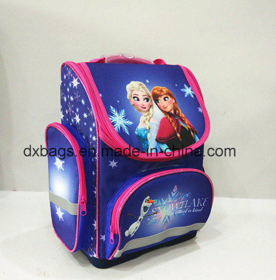 300d Polyester Frozen Child Backpack, School Bag pictures & photos