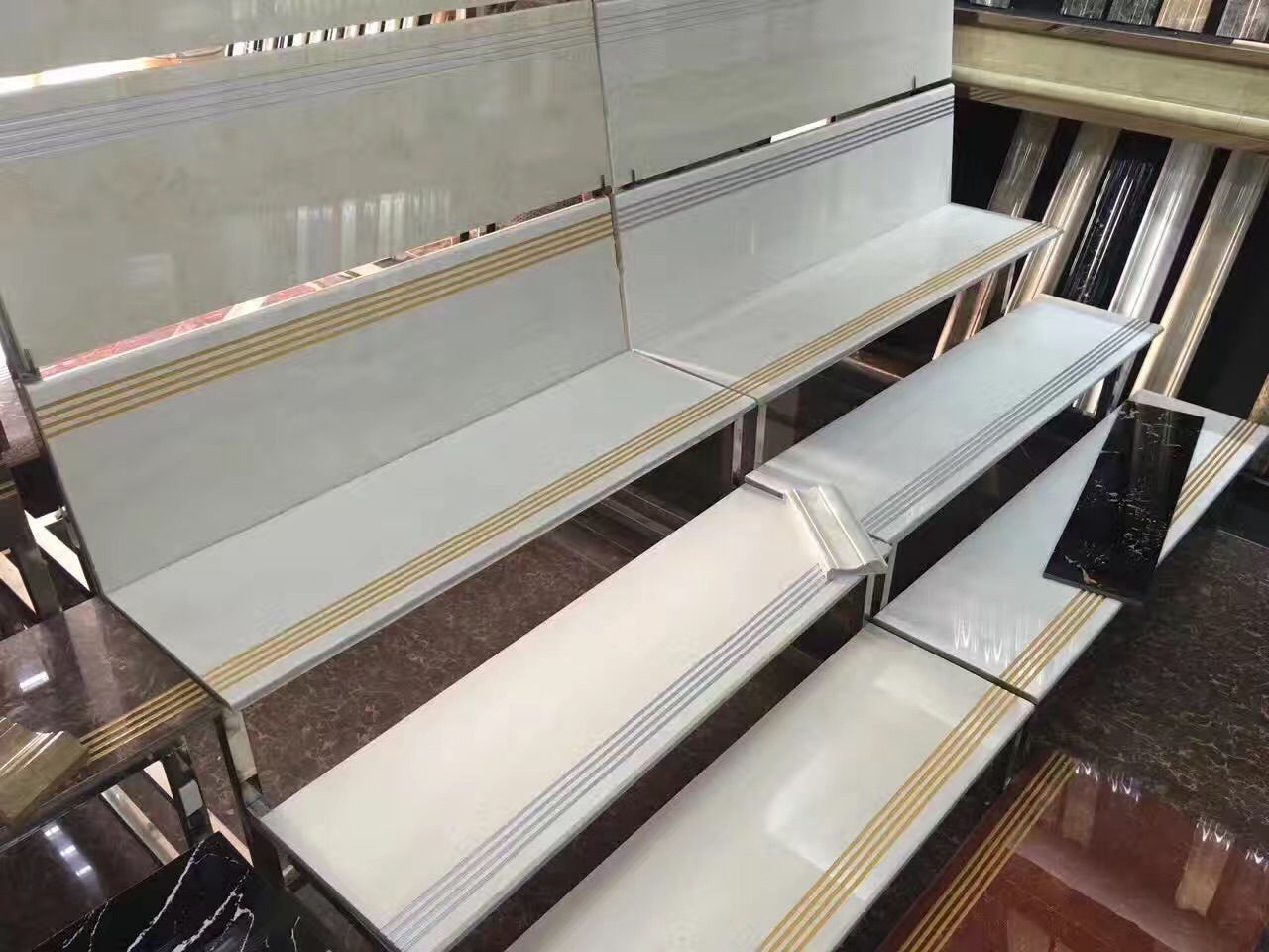 China supplier glazed polished porcelain stairs tile ceramic stair china supplier glazed polished porcelain stairs tile ceramic stair tiles china stair tile porcelain stair tile dailygadgetfo Images