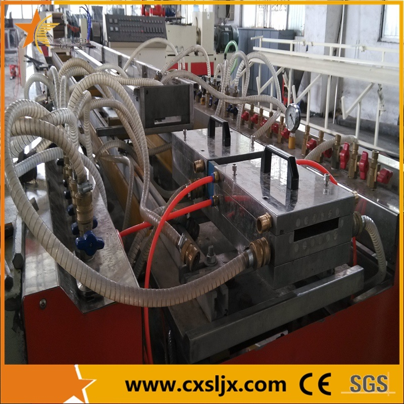PVC Plastic Profile Ceiling Panel Extrusion Line / Extrusion Machine