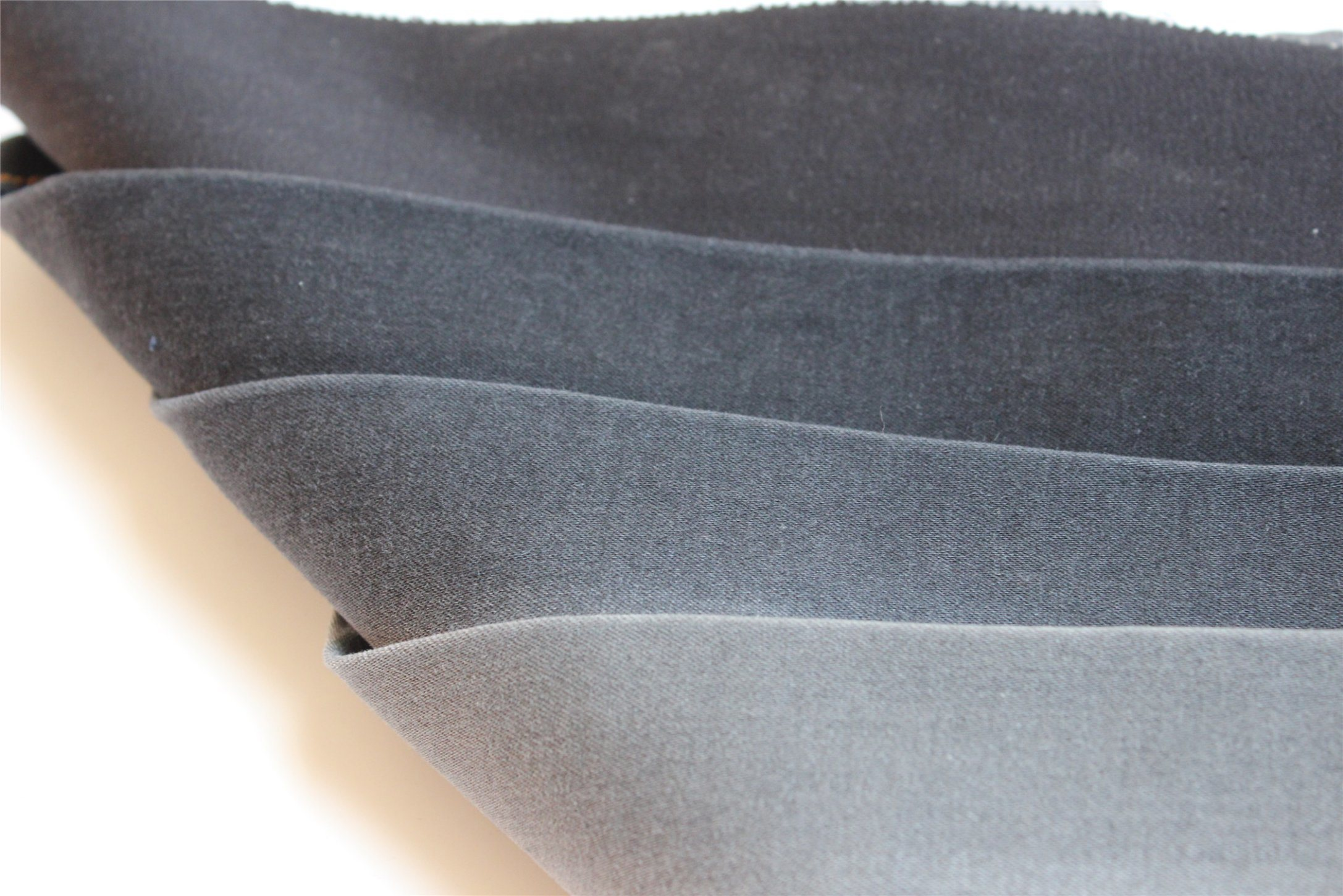 Black Color Cotton Polyester Spandex Denim