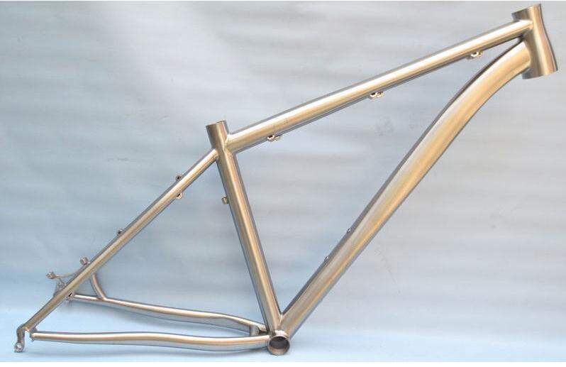 China Titanium Bicycle Frame Hotsale High Quality Bike Parts ...