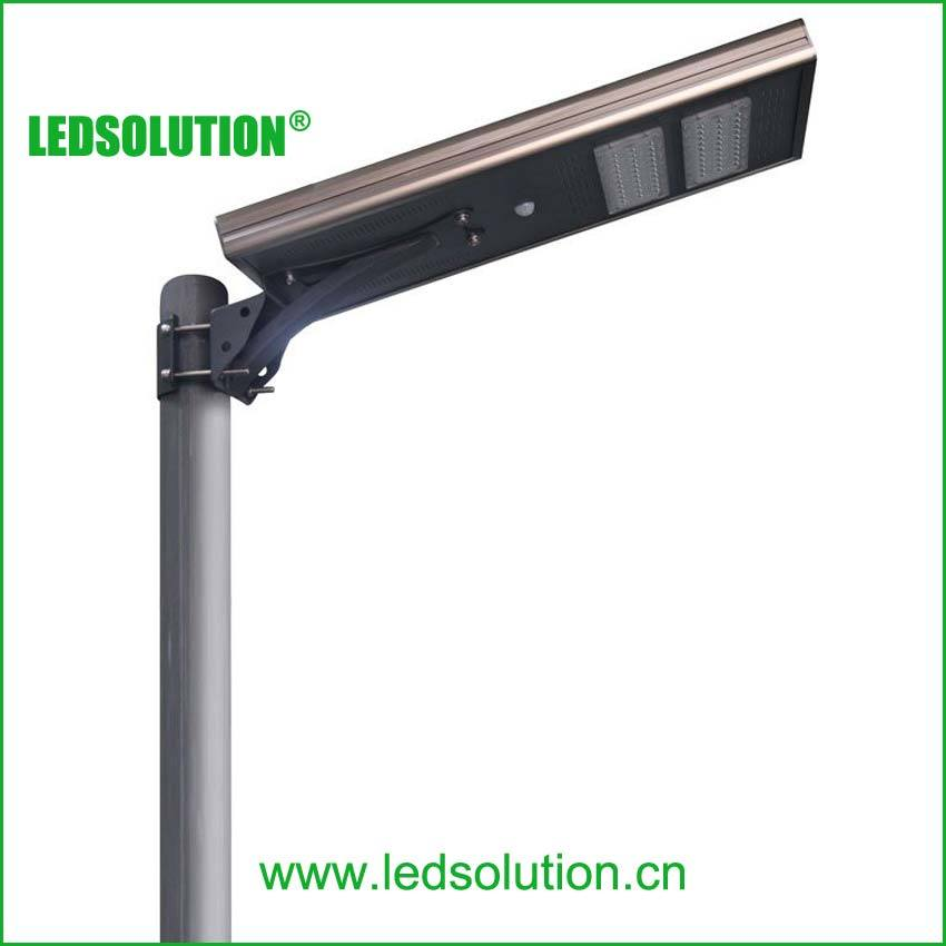 Is Series All in One Integrated Lithium LiFePO4 LED Solar Street Light LED Road Light LED Lighting with Motion Sensor pictures & photos