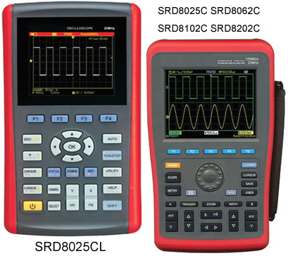 Handheld Digital Storage Oscilloscope SRD8xxx Series