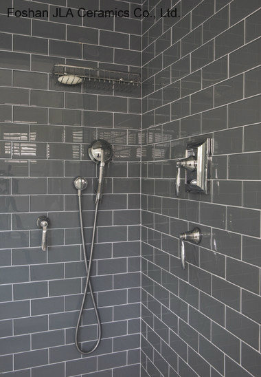 China 3 X6 7 5x15cm Grey Subway Tiles