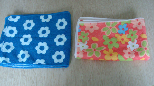 2014 New Style Microfiber Cloth with Printing Design