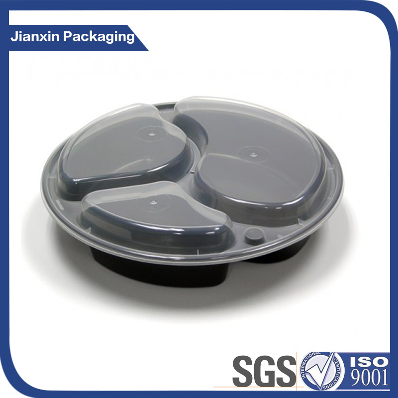 Tableware Recyclable Plastic Lunch Dinner Food Packaging pictures & photos