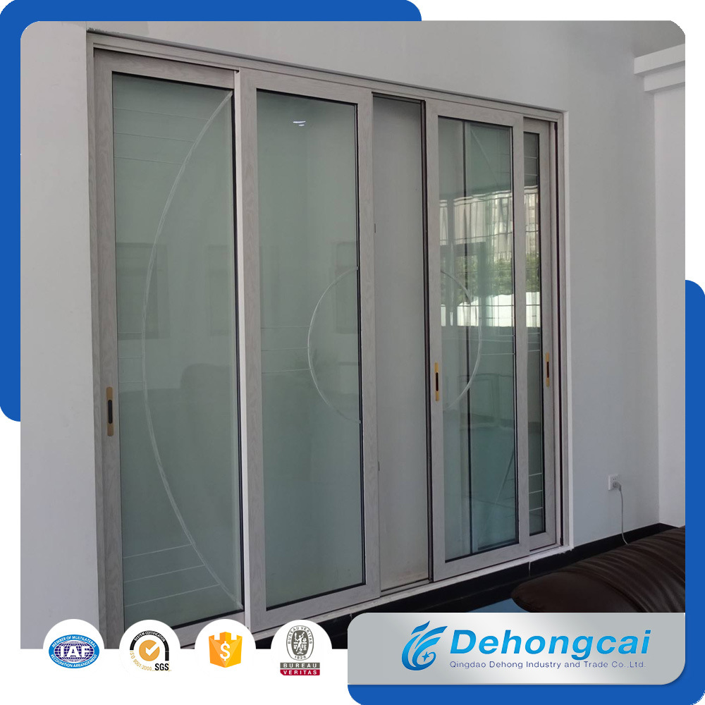 China New Design Aluminium Sliding Door For Home Villa Entrance