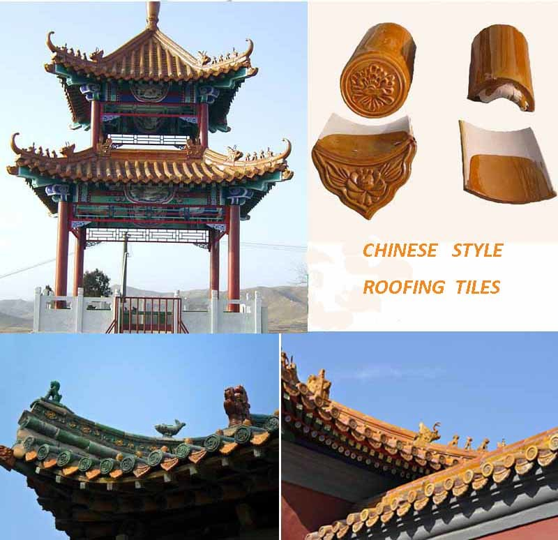 [Hot Item] Asian Style Roof Tiles for Chinese Garden Pagoda