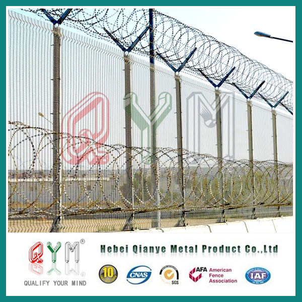 China Razor Blade Wire Prison Fence/ Bto 30 Security Concertina ...