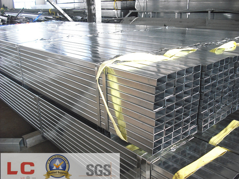 Pre-Galvanized Square/ Rectangular Pipe for Structure pictures & photos