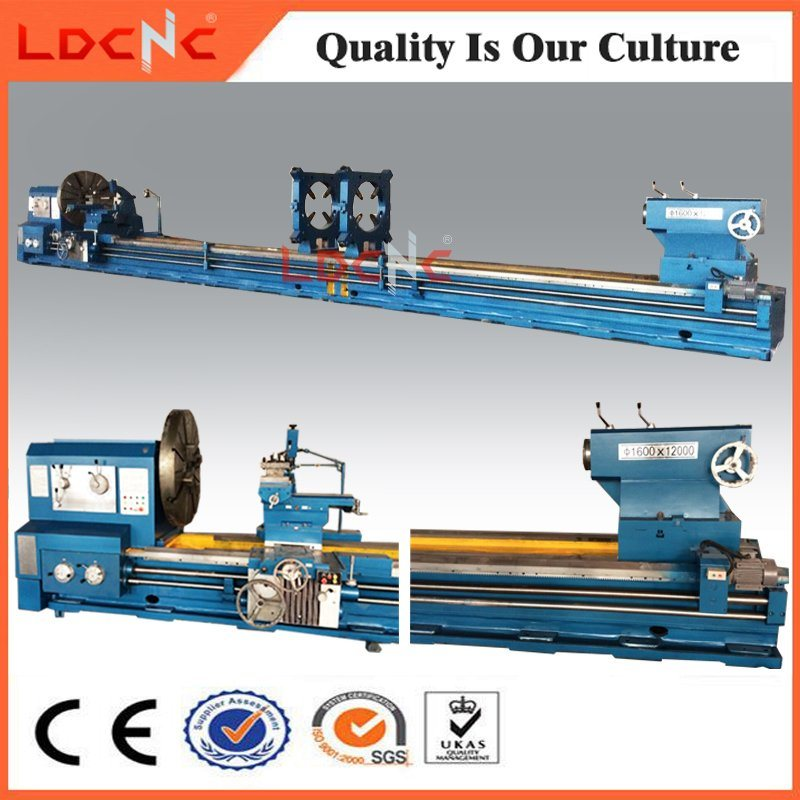 Cw61100 Hot Sale Economic Manual Horizontal Heavy Lathe Machine Price