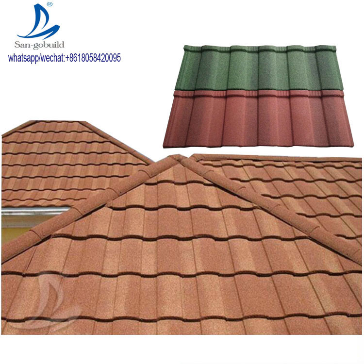 China Metal Decramastic Roof Tiles