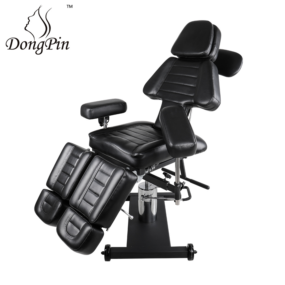 [Hot Item] Hydraulic Tattoo Chair Tattoo Bed Sale Adjustable Beauty Salon  Facial Bed Furniture