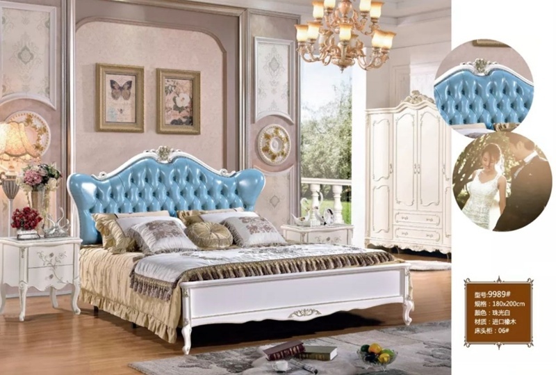 China Contemporary Design French Style Bed Bedroom Furniture ...