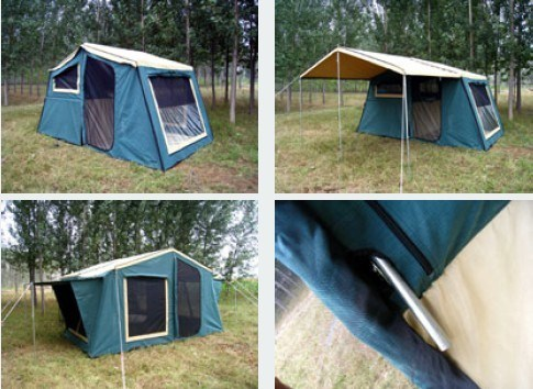 China 7ft Camper Trailer Tent 14oz Ripstop - China Trailer ...