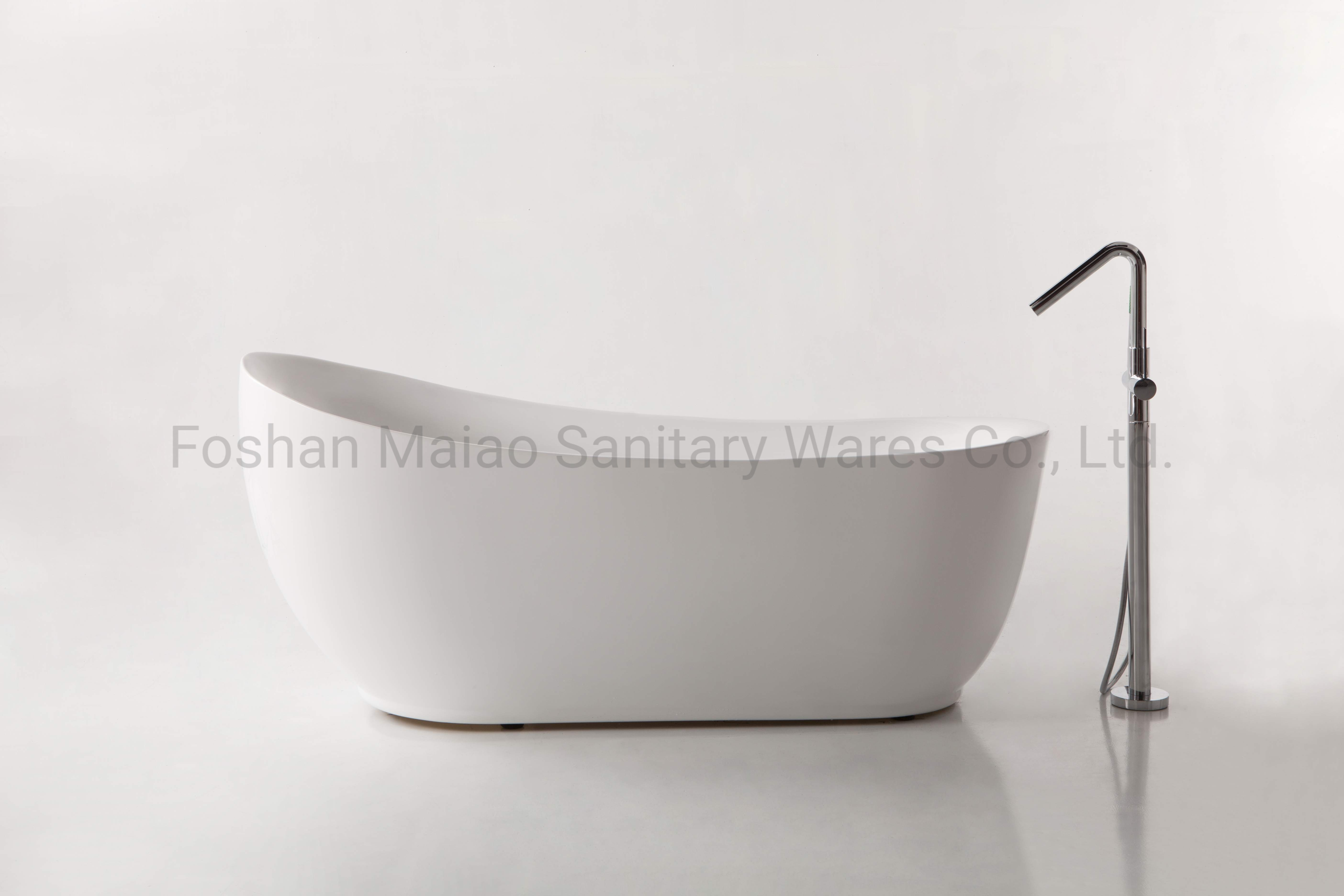 Picture of: China Popular Antique Style Sanitary Ware Acrylic Freestanding Bathtub Ba 8208 China Freestanding Bathtub Bathtub