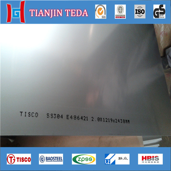 304 304L 316 316L Decorative 4X8 Stainless Steel Sheet