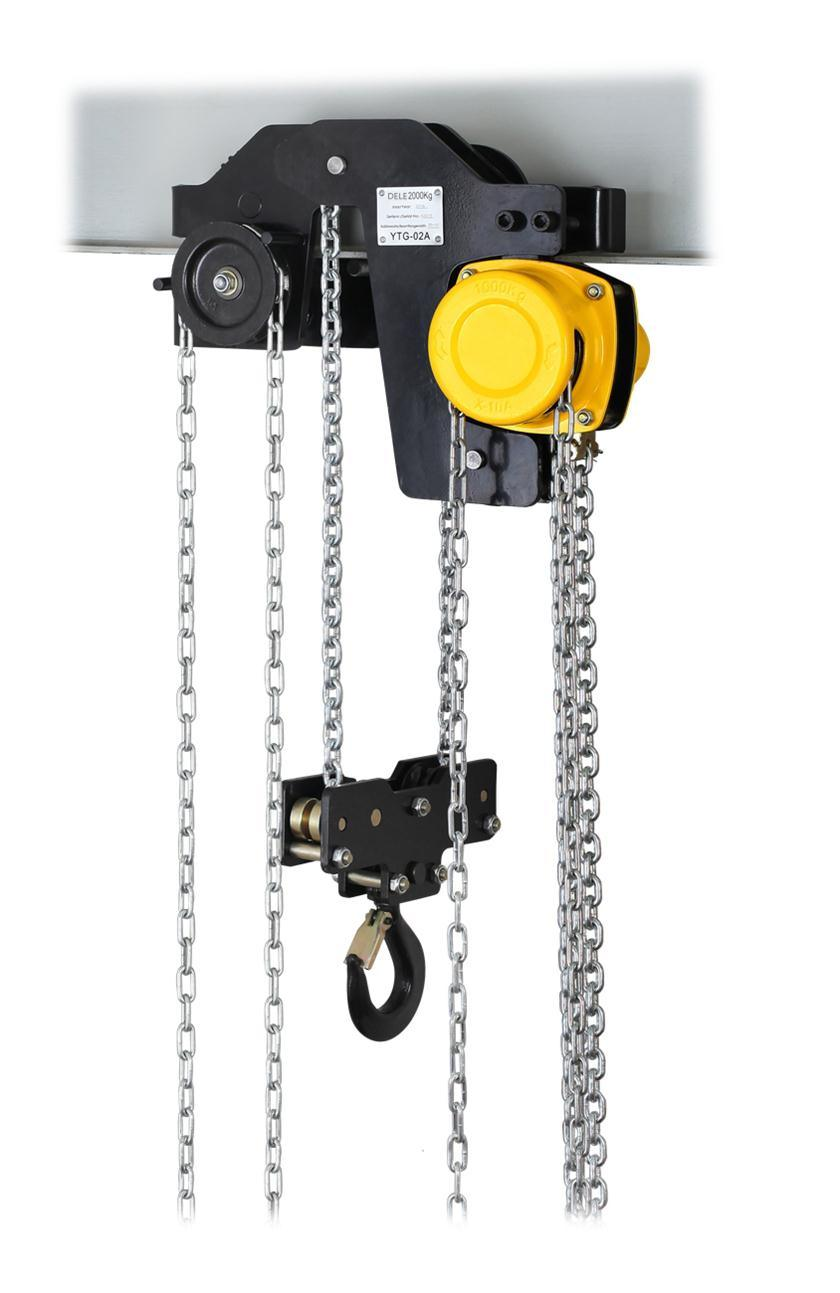1ton Low Headroom Chain Hoist pictures & photos