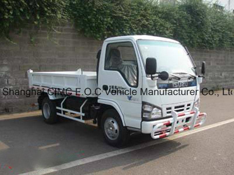 Isuzu 600P cargo truck crew cabin   Garbage truck, Trucks