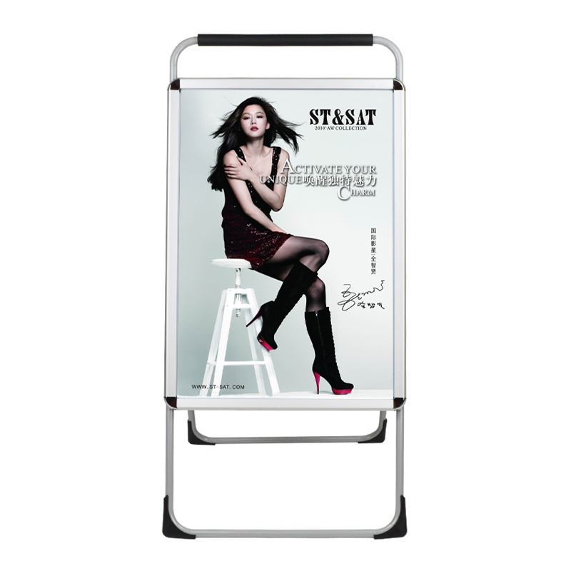 Steel Frame Poster Stand with A1 Poster