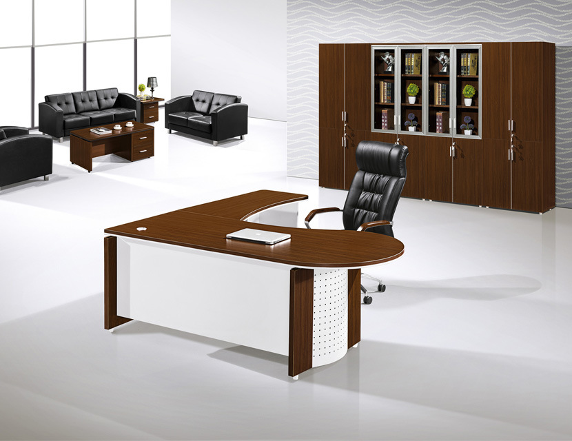 Hot Item Modern Oval Office Executive Desk CEO Table