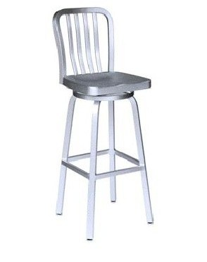Cast Aluminum Navy Barstool Chair (DC-06103)