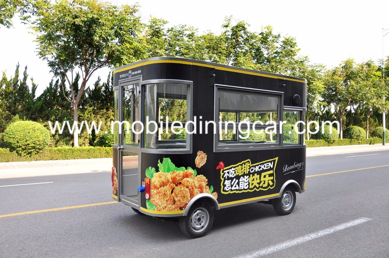 China Top Quality Factory Price Electric Fast Food Kitchen Truck For Sale