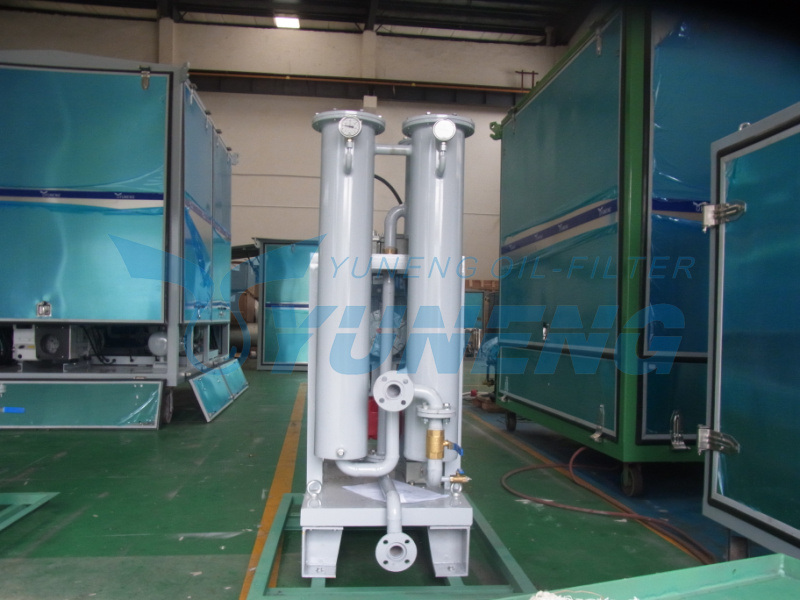 Remove Impurities Turbine Oil Purification Machine