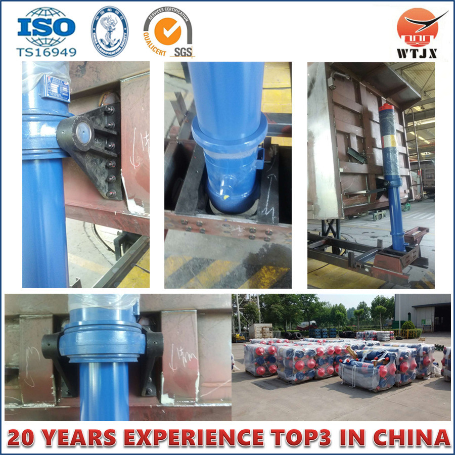 Front End Cylinder for Trailer Dump Truck Hydraulic Cylinder pictures & photos