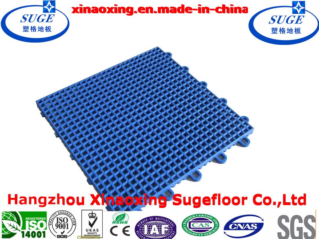 China Cheap Suspended Interlocking Hockey Floor Tile China