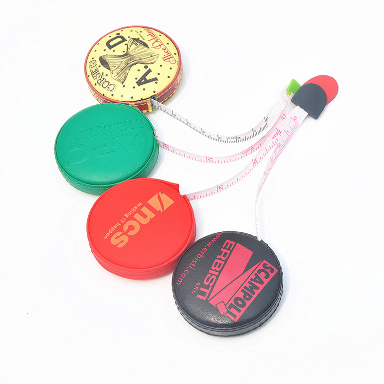 2015 Hot Sale PU Leather Promotional Tape Measure (RT-033)