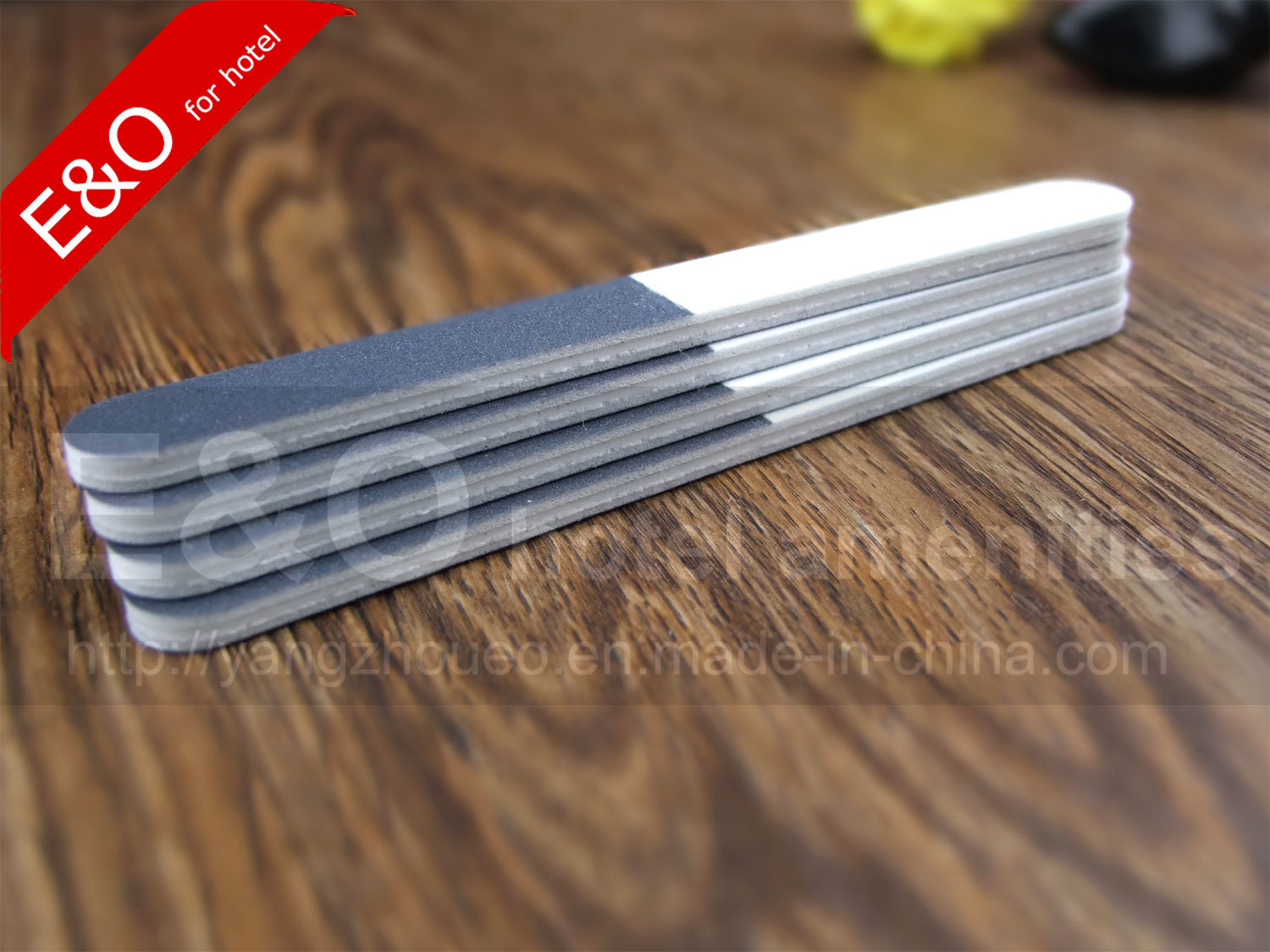 China Hotel Amenities Long Size Emery Board Nail File Photos ...