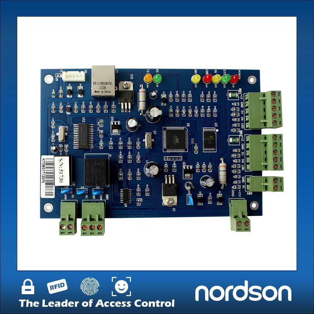 China Wiegand Single Door Access Control Board With Rfid Based System Using 8051 Electronic Circuits