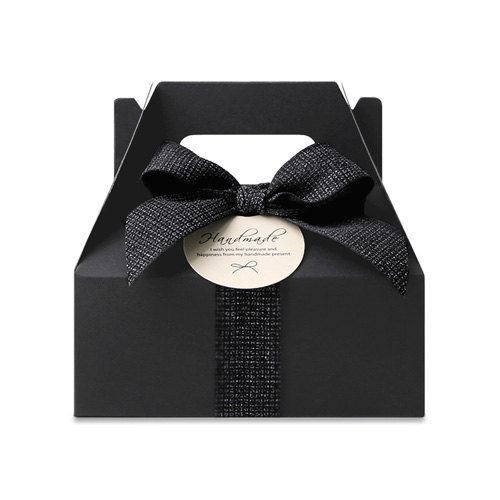 Black Gable Boxes Wedding Favor Baby Shower Favor Large Gable Box Black Color Boxes Gable Favor Boxes Cupcake Box Cupcake Packaging Box