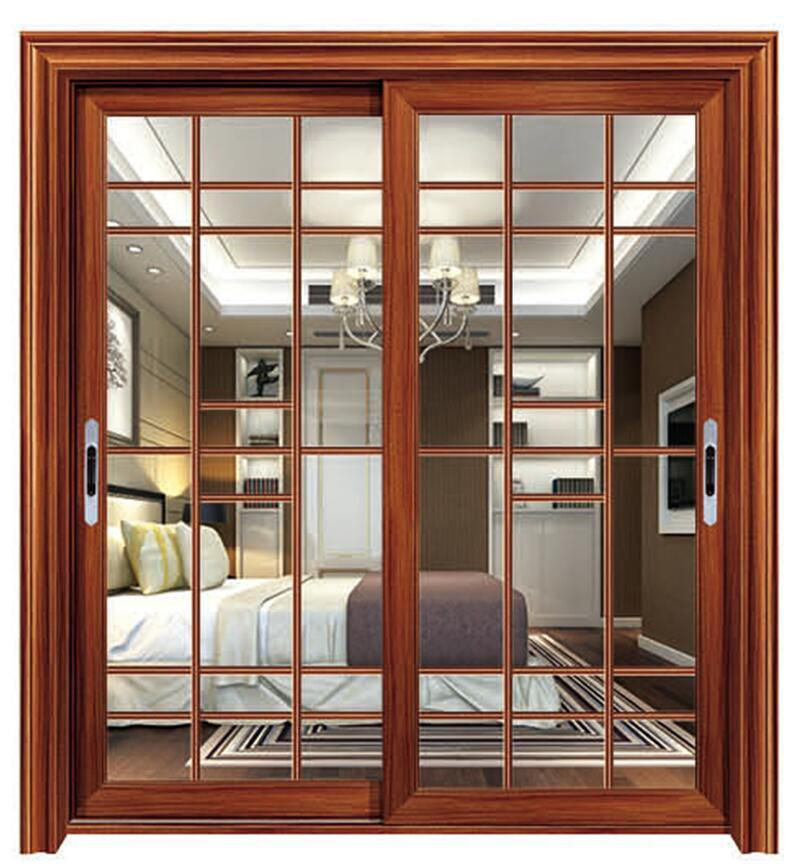 China Thermal Break Aluminum Horizontal Glass Sliding Door with ...