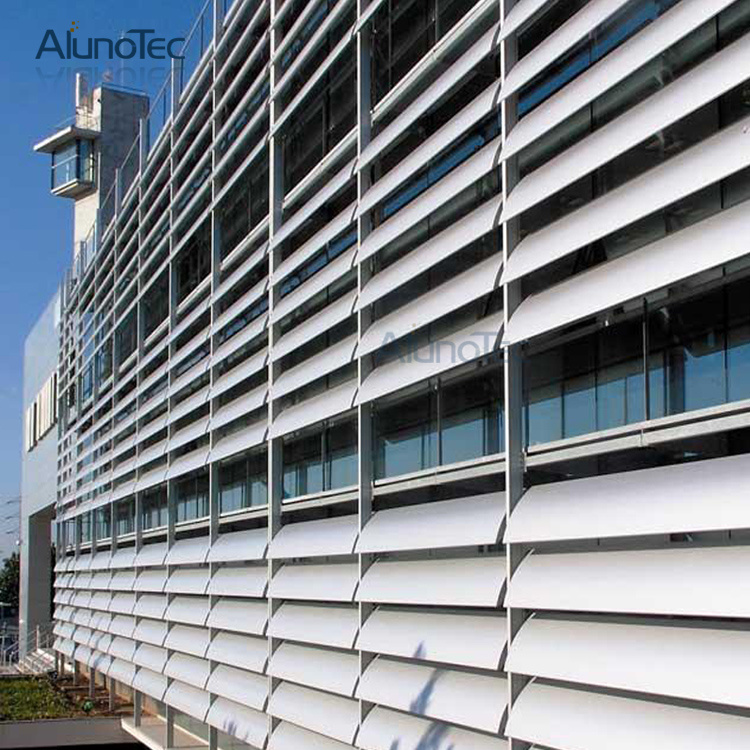China Aerobrise Sun Louvres External Aluminum Louvers For