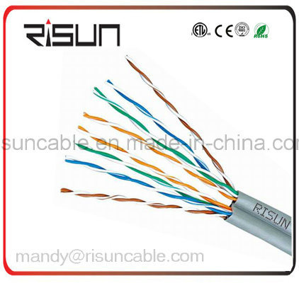Double Jacket (PE+PVC) UTP Cat5e LAN Cable with 305m