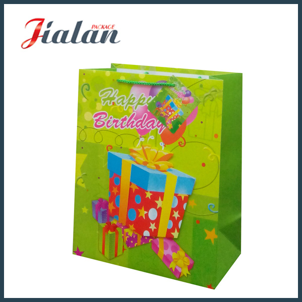 3D Glitter Butterfly Nylon Rope Customize UV Printed Paper Bag pictures & photos