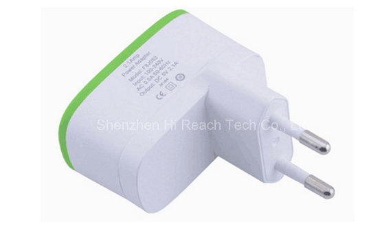 Adaptive Dual USB Travel Charger Portable UK Plug Cell Phone Adapter 5V 3.1A pictures & photos