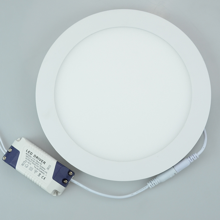 Best Price 12W Round Thin LED Panel Light High Quality pictures & photos