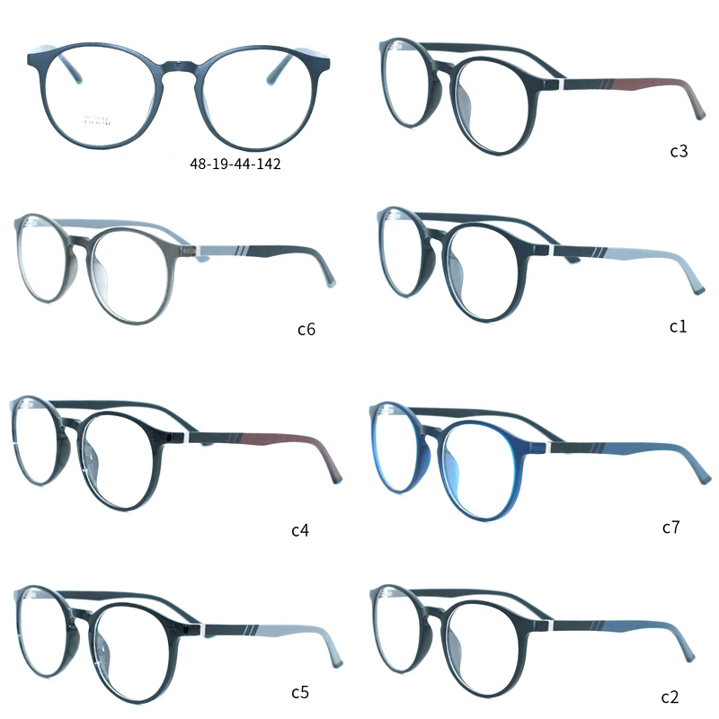 5abf32ae9f5 Fashion Design Optical Glasses Spectacles Eyewear Eyeglasses Frame with  Ready Goods Factory Wholesale MOQ 50PCS 7 Colors Option