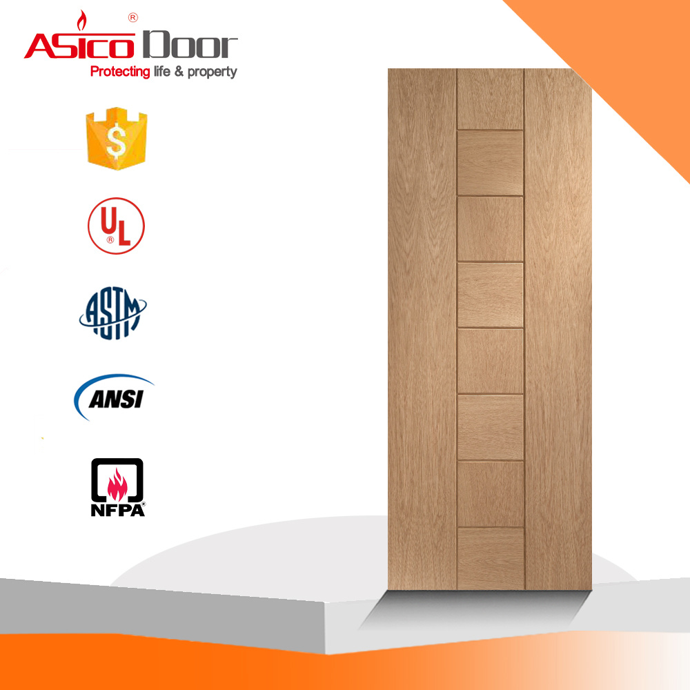 China UL 10 (c) 1-1/2 Hour Fire Rated Wooden Door - China 4 ...